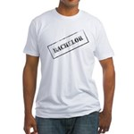 Bachelor Stamp Fitted T-Shirt
