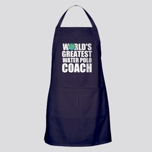 World's Greatest Water Polo Coach Apron (dark)