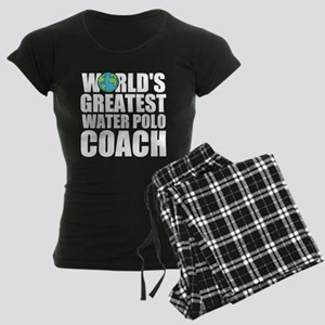 World's Greatest Water Polo Coach Pajamas