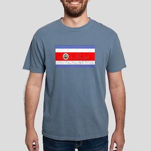 Distressed Costa Rica Flag T-Shirt