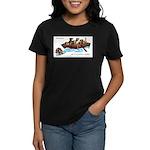 Border Terrier Rescue Women's Dark T-Shirt