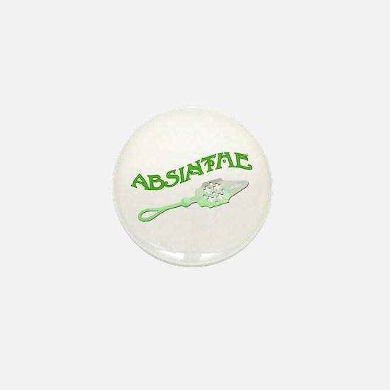 Absinthe Spoon Mini Button