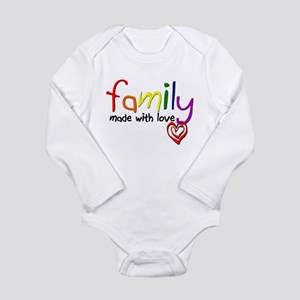 Gay Family Love Infant Bodysuit Body Suit