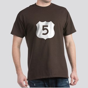 US Route 5 Dark T-Shirt