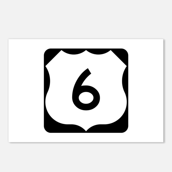 US Route 6 Postcards (Package of 8)