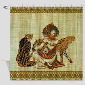 Cleopatra 6 Shower Curtain