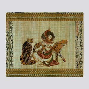 Cleopatra 6 Throw Blanket