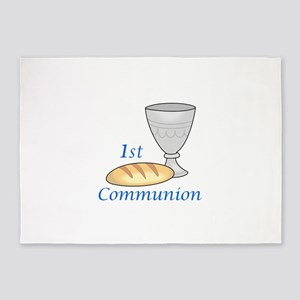 FIRST COMMUNION 5'x7'Area Rug