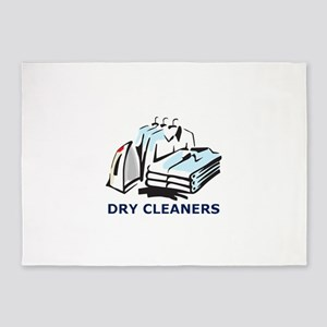 DRY CLEANERS 5'x7'Area Rug