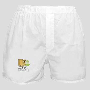 FENCE INSTALLATION Boxer Shorts