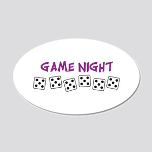 GAME NIGHT Wall Decal