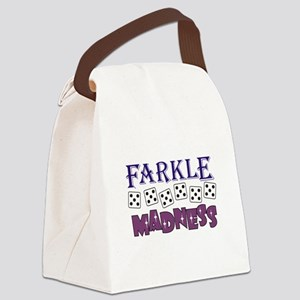 FARKLE MADDNESS Canvas Lunch Bag
