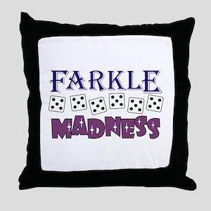 FARKLE MADDNESS Throw Pillow