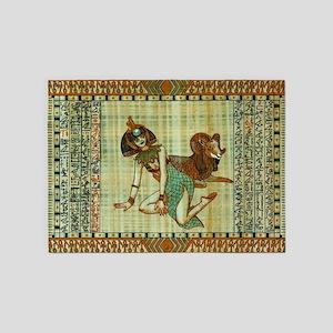 Cleopatra 3 5'x7'Area Rug