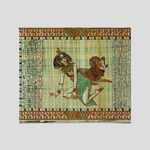 Cleopatra 3 Throw Blanket