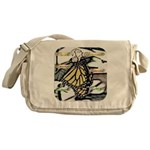 Light Butterfly Emerging Messenger Bag