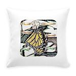 Light Butterfly Emerging Everyday Pillow