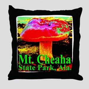 Mt. Cheaha State Park, Ala. Throw Pillow