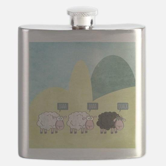 Unique Sheep Flask