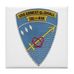 USS ERNEST G. SMALL Tile Coaster