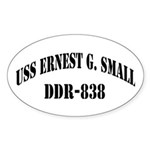 USS ERNEST G. SMALL Sticker (Oval)