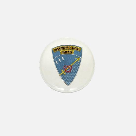 USS ERNEST G. SMALL Mini Button