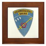 USS ERNEST G. SMALL Framed Tile