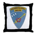 USS ERNEST G. SMALL Throw Pillow