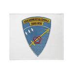 USS ERNEST G. SMALL Throw Blanket