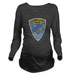 USS ERNEST G. SMALL Long Sleeve Maternity T-Shirt