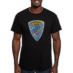 USS ERNEST G. SMALL Men's Fitted T-Shirt (dark)