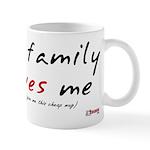 My (cheap) Family Loves Me Mug