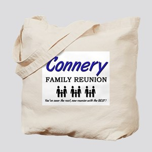 Connery Family Reunion Tote Bag