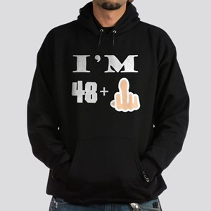 Middle Finger 49th Birthday Hoodie