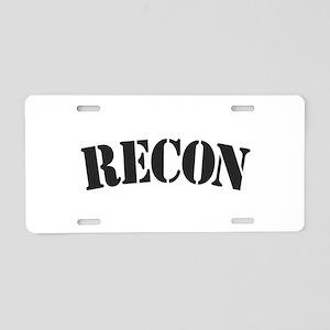 Recon Aluminum License Plate