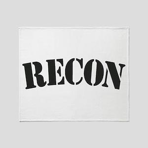 Recon Throw Blanket