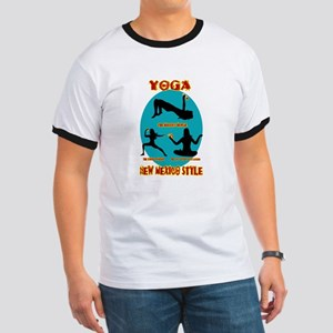 YOGA NEW MEXICO STYLE Ringer T