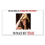 Welcome to Texas! #881 Sticker (Rectangle 10 pk)