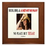 Welcome to Texas! #881 Framed Tile