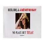 Welcome to Texas! #881 Throw Blanket