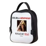 Welcome to Texas! #881 Neoprene Lunch Bag