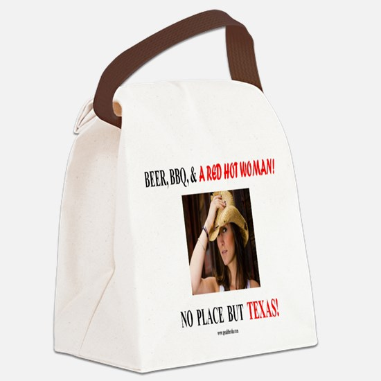 Welcome to Texas! #881 Canvas Lunch Bag