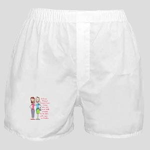 A TRUE FRIEND Boxer Shorts
