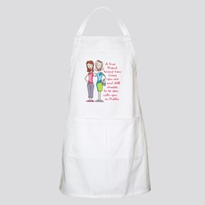 A TRUE FRIEND Apron