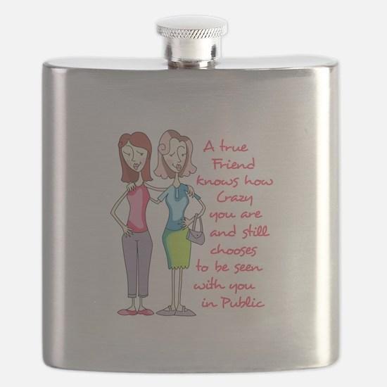 A TRUE FRIEND Flask
