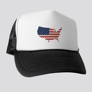 United States Flag Trucker Hat