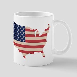 United States Flag Mugs