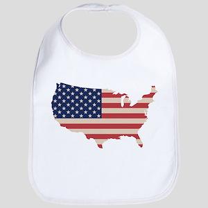 United States Flag Bib
