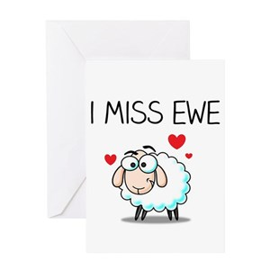 I miss you greeting cards cafepress m4hsunfo