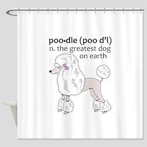 GREATEST DOG ON EARTH Shower Curtain